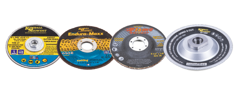 CUTOFF AND GRINDING WHEELS
