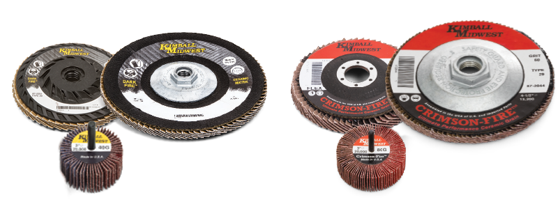 FLAP DISCS AND WHEELS